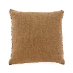 Lina Linen Pillow Hazelnut