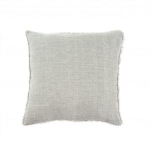 lina pillow flint grey